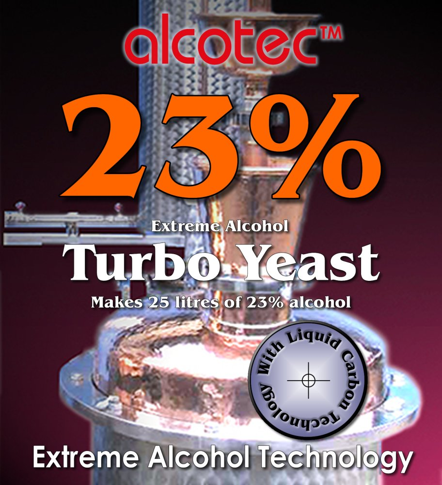 Alcotec 23% Turbo Yeast