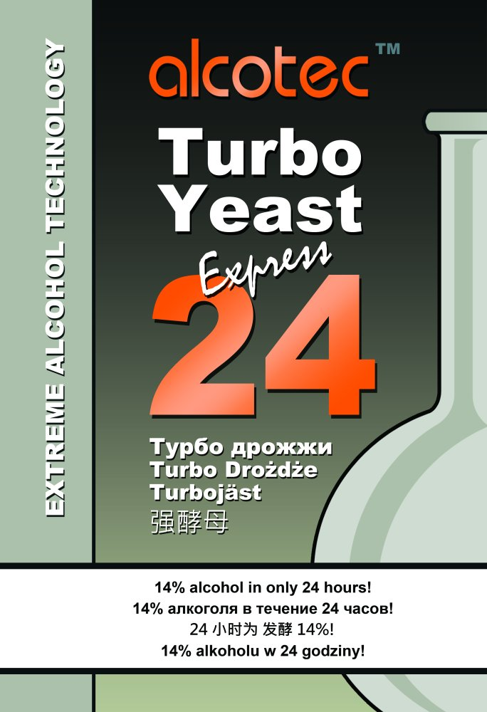 Alcotec Turbo Yeast 24