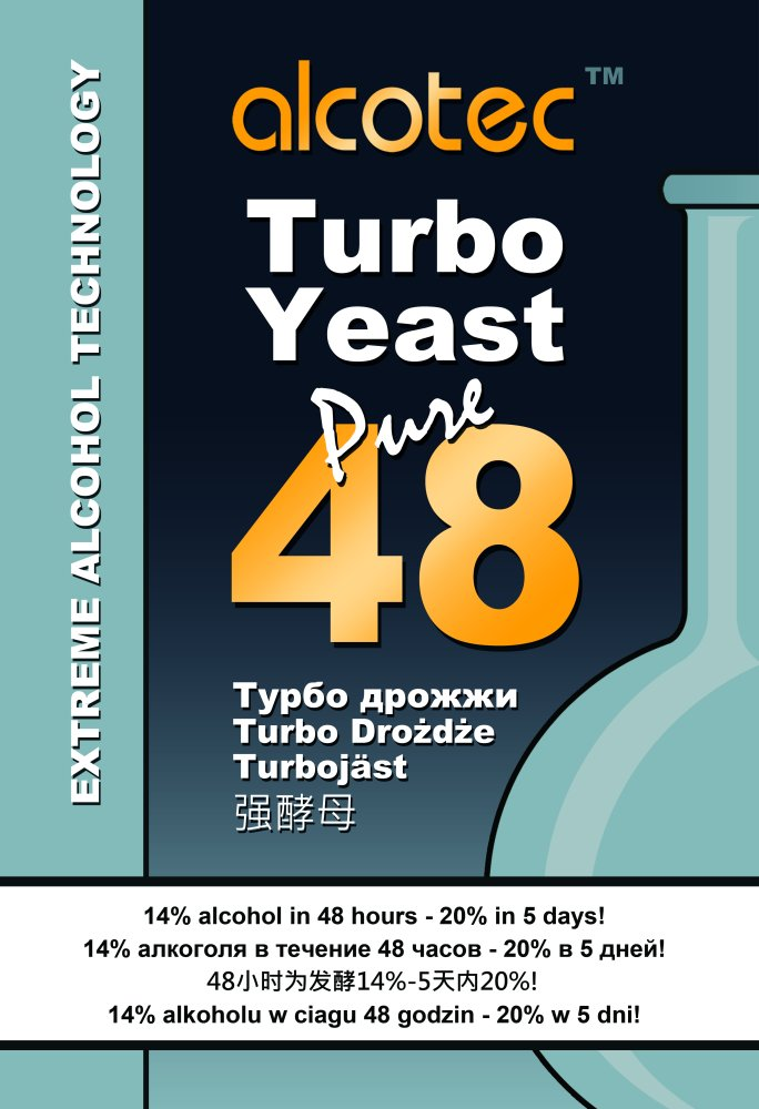 Alcotec Turbo Yeast 48